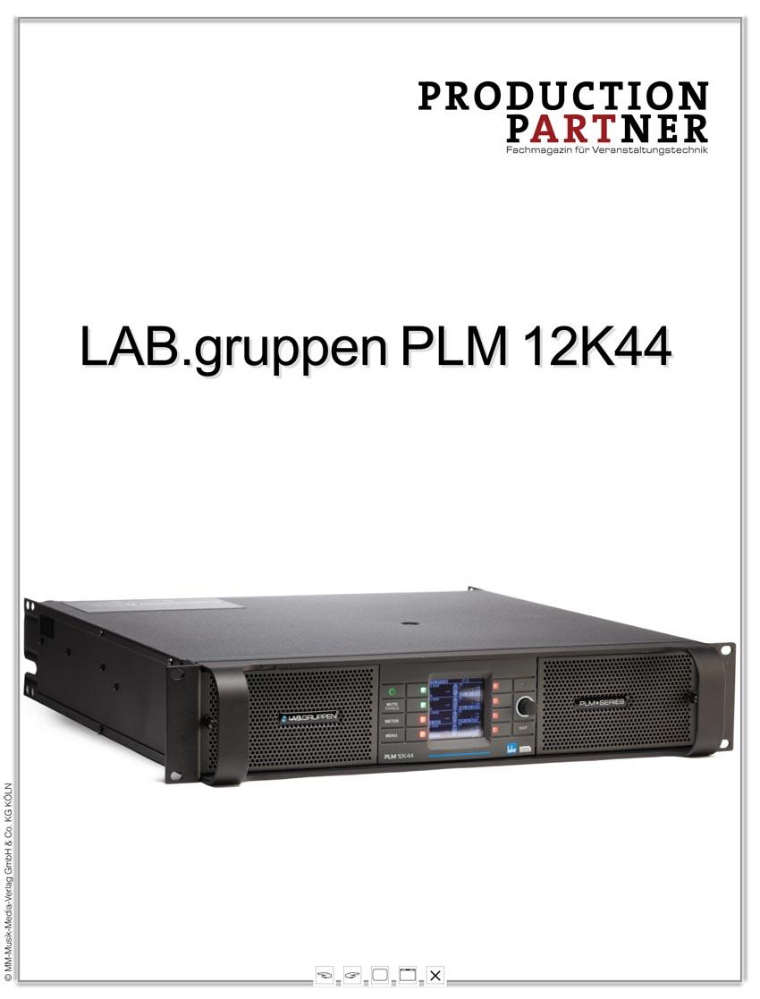 Produkt: LAB.gruppen PLM+  im Test