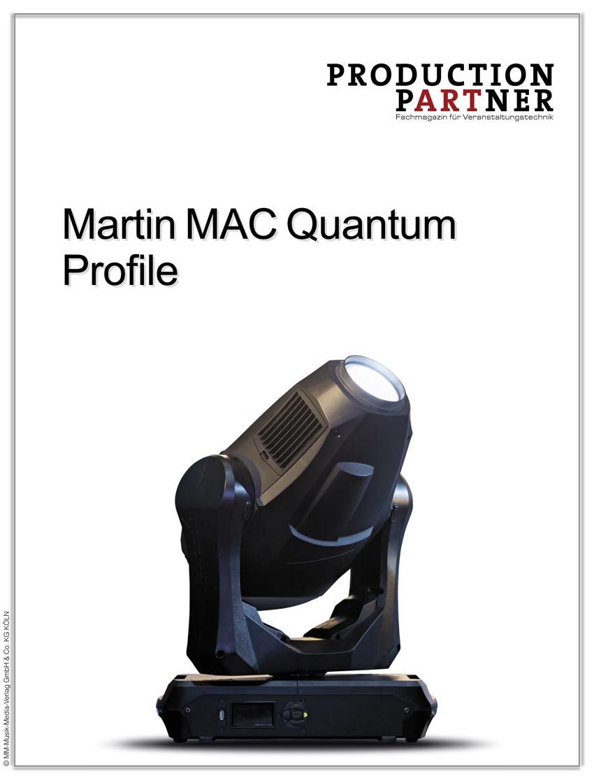 Produkt: Testbericht: Martin MAC Quantum Profile