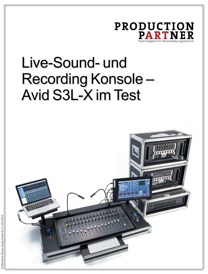 Produkt: Avid S3L-X im Test