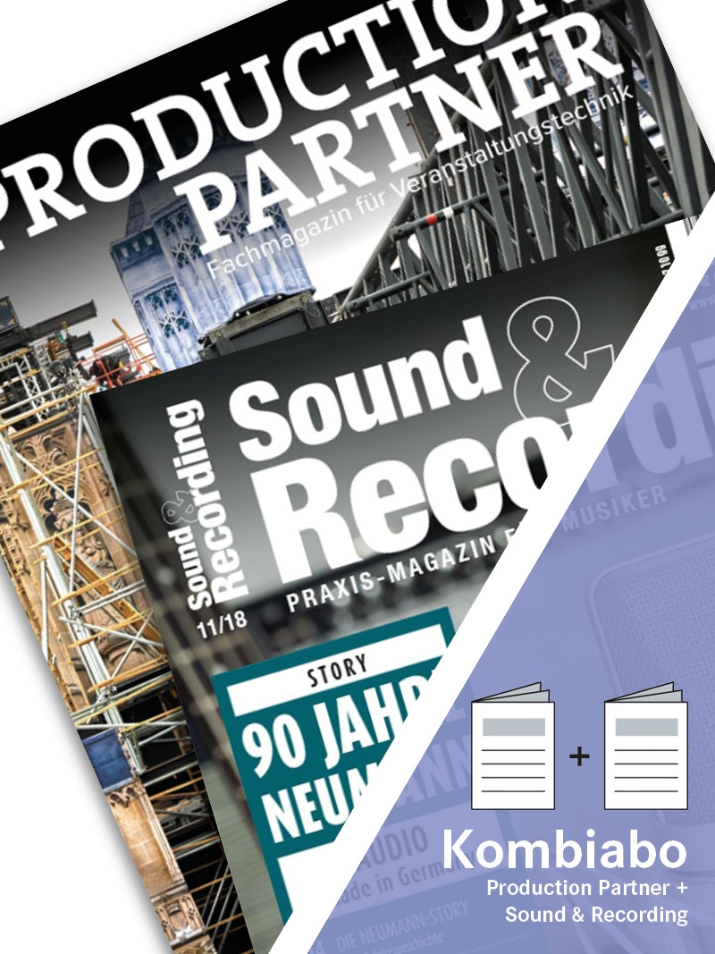 Produkt: PRODUCTION PARTNER + SOUND & RECORDING Kombi-Abo