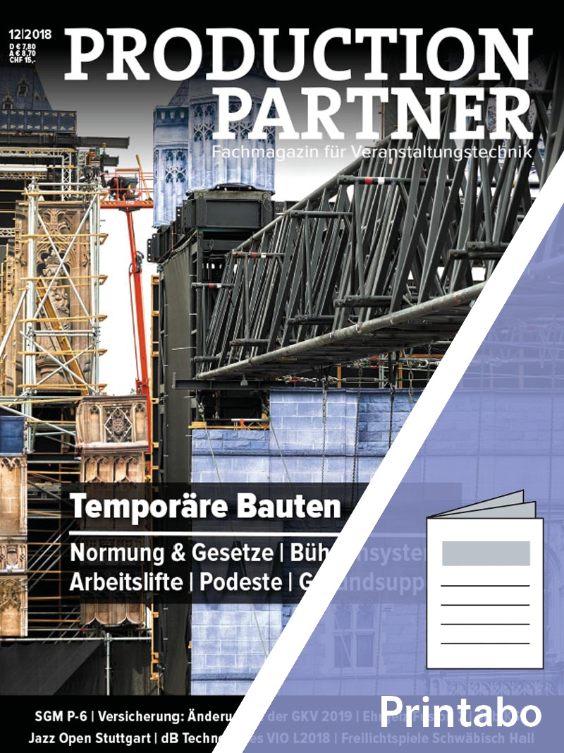 Produkt: PRODUCTION PARTNER Jahresabonnement Print