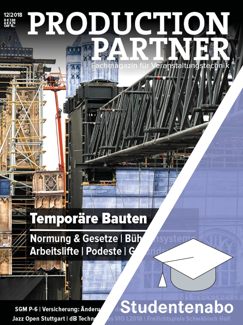 Produkt: PRODUCTION PARTNER Studentenabonnement Print