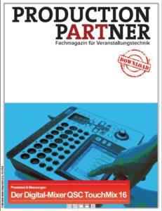 Produkt: Digital-Mixer QSC TouchMix 16