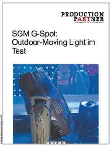 Produkt: IP-65 Moving Head von SGM im Test