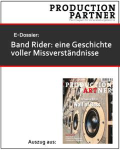 Produkt: Oliver Voges zum Thema Band Rider