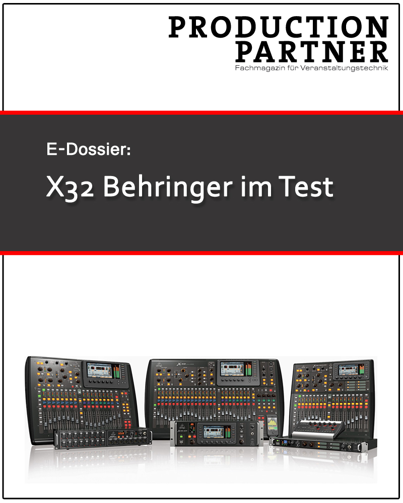 Produkt: Mischpult Behringer X32