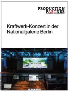 Produkt: Kraftwerk in der Neuen Nationalgalerie Berlin
