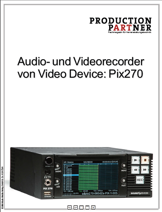 Produkt: Video Devices PIX 270i