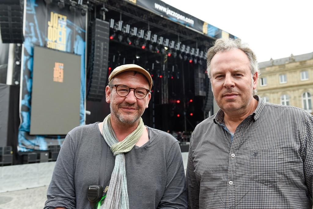 Projektleiter Matthias Kreiner (links) und Sound-Designer Bodo Bergmann