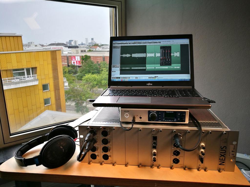 Der NEXUS A/D-Wandler XMIC+ von Stage Tec digitalisiert die historischen Aufnahmen