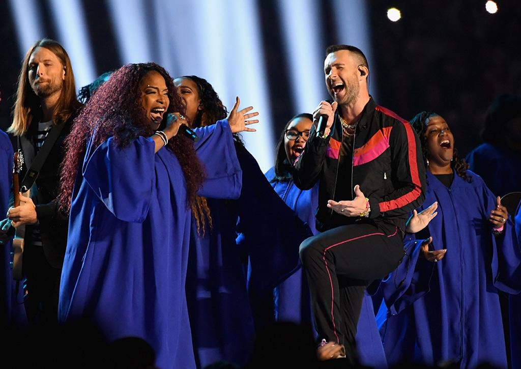 Adam Levine von Maroon 5