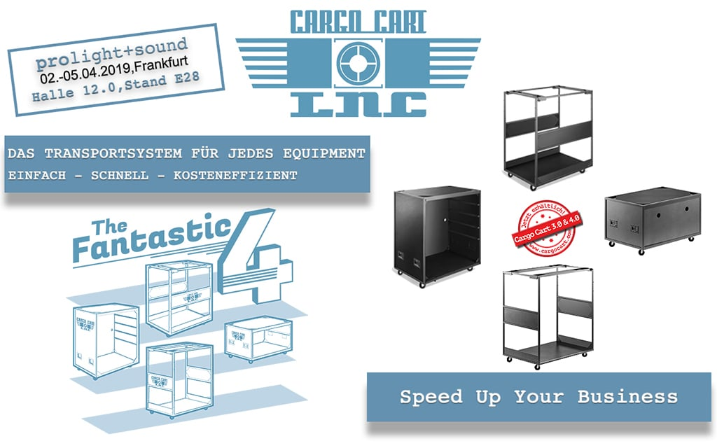Cargo Cart auf der Prolight+Sound 2019