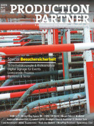 Produkt: PDF-Download: Production Partner 3/2019