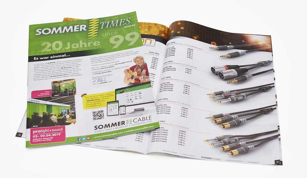 Sommer-Cable-Katalog 2019