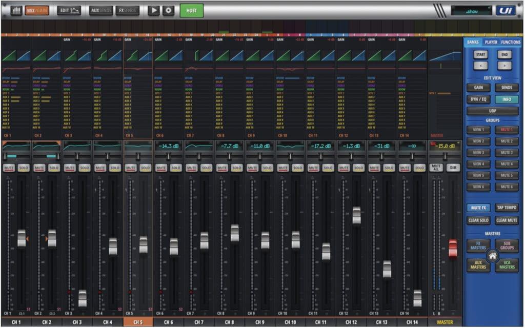 Soundcraft-Software