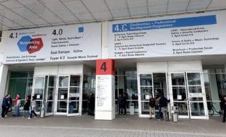 Eingangsbereich Halle 4.1 / 4.0 und Saal Europa