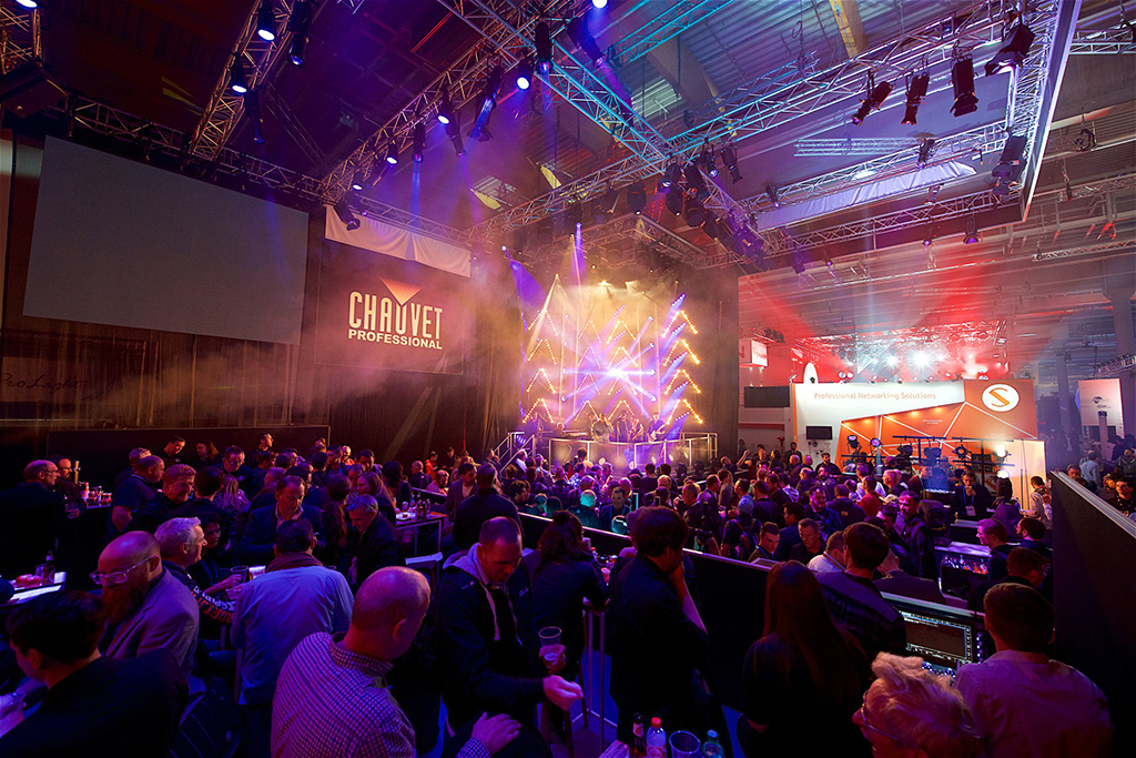 Messestand von Chauvet Professional bei der Prolight+Sound 2019