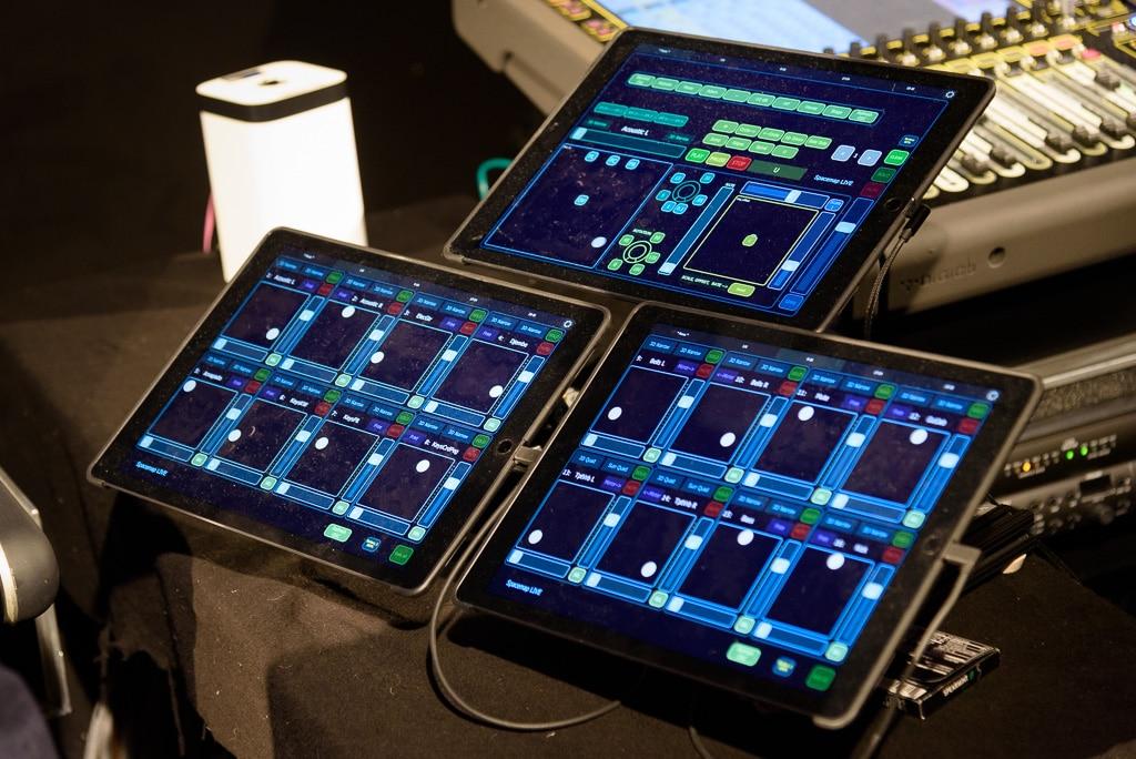 Animationseinstellungen im oberen iPad