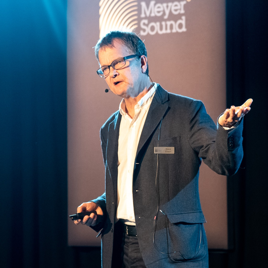 Steve Ellison, Mitbegründer von LSC und Director Spatial Sound