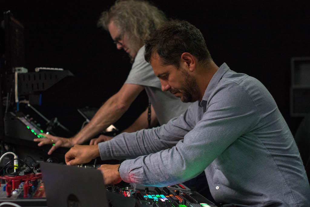 Romain Delahaye (vorne) und Hervé Déjardin