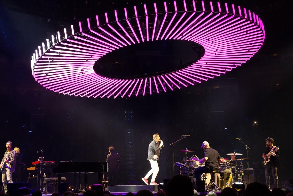 Bühne beim PUR Konzert in der Kölner Lanxess Arena (2018)