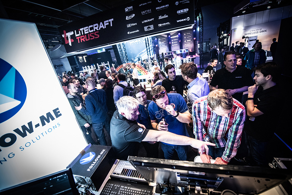 Follow-Me bei LMP auf der Prolight+Sound 2019