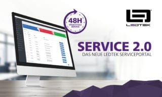 LedTek Service-Portal