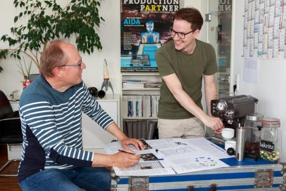 Detlef Hoepfner und Marcel Courth