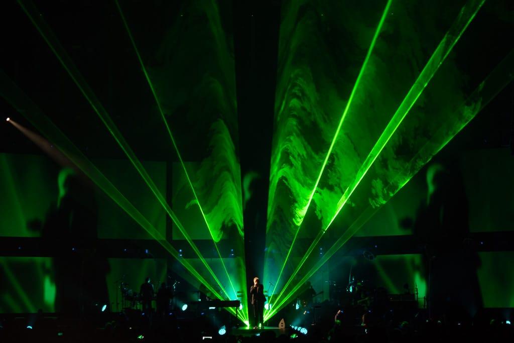 Laser-Show mit Laserlink