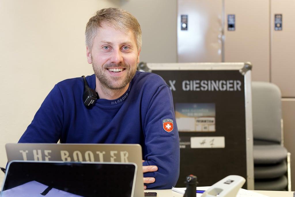 Produktionsleiter Tobi Weiser