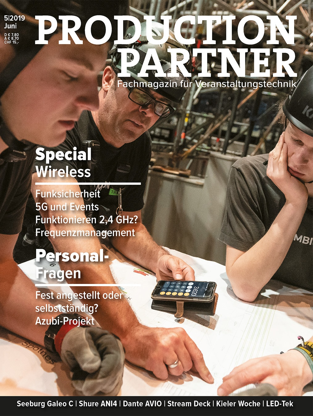 PRODUCTION PARTNER Titelbild, Ausgabe 5|2019