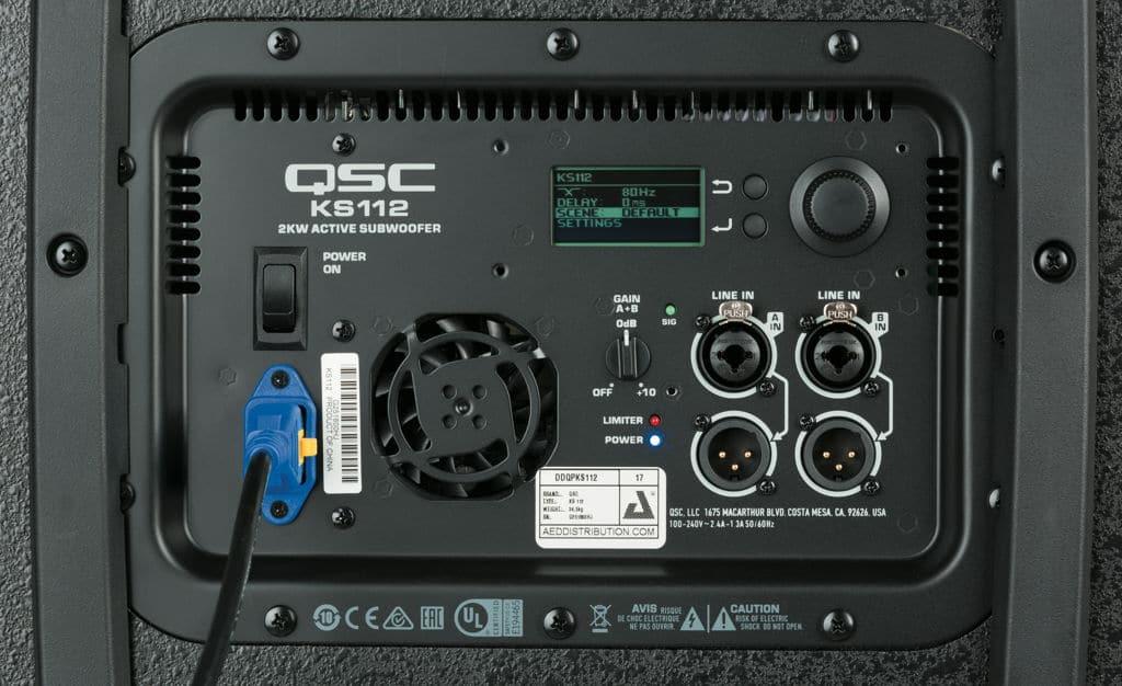 Subwoofer QSC KS112