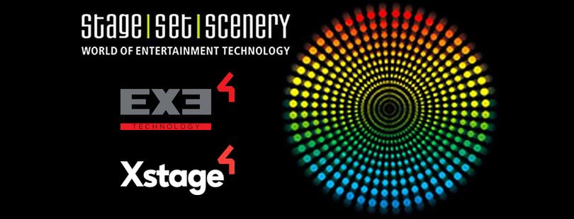 EXE Technology und Xstage auf der Stage Set Scenery 2019