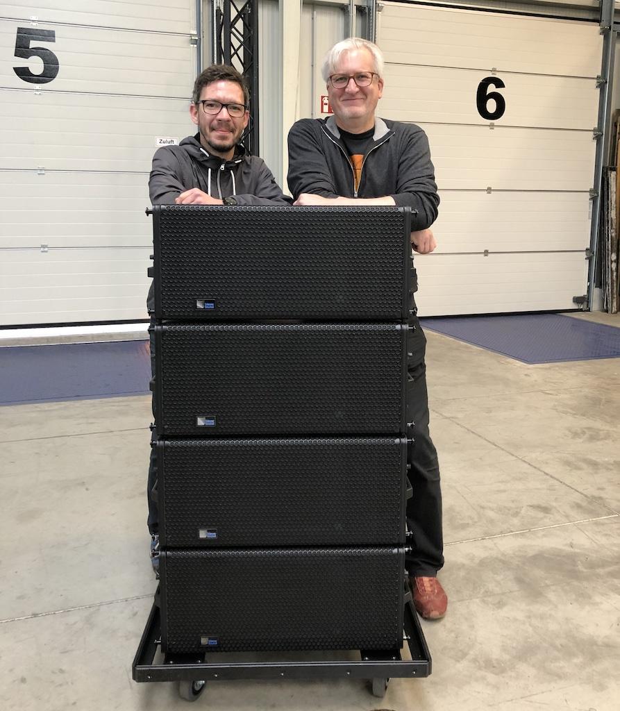 Jürgen Klose und Jörg Kromphardt-Blumenstein