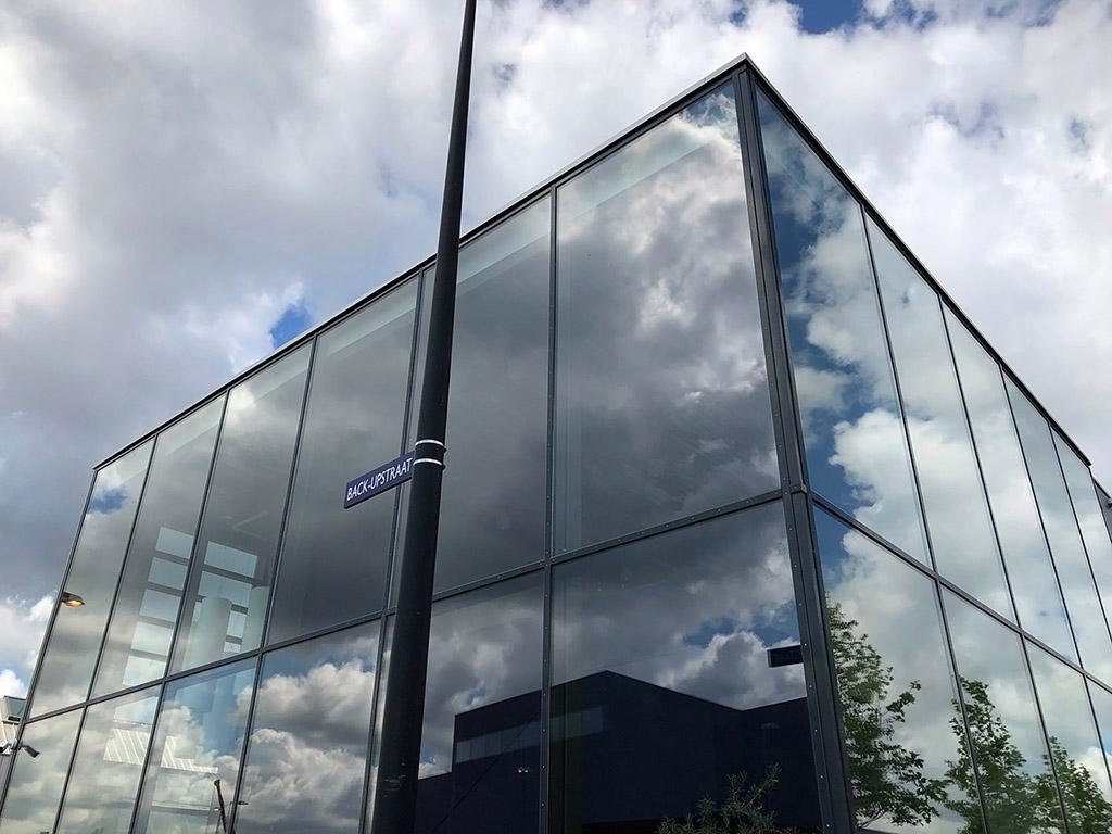 Außenansicht neues Gebäude vision tools