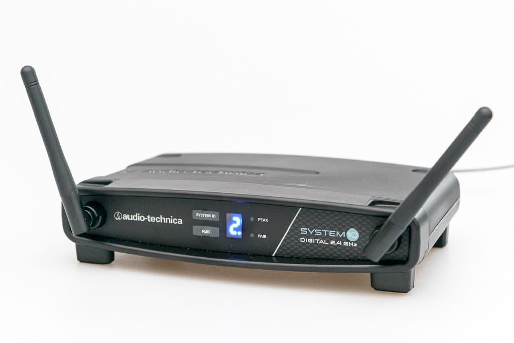 """2-GHz-Drahtlossystem """"System 10"""" von Audio Technica"""