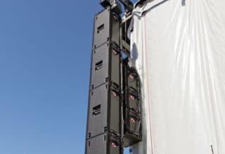Beschallung an der Sparda Festival Stage