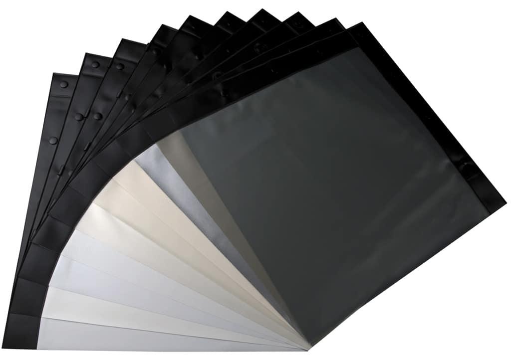 Folienmaterial in verschiedenen Farben