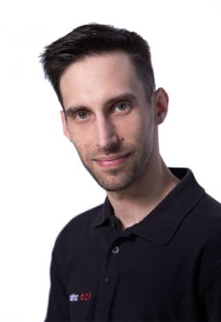 Andre Groß, Produktmanager und Spezialist für Medienserver bei publitec