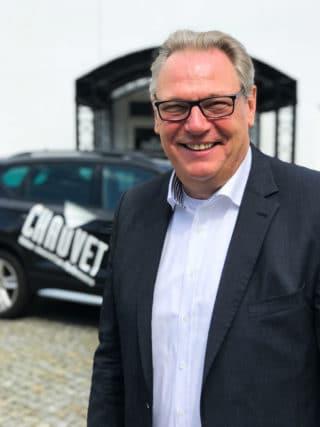 Thomas Fischer vor Chauvet Deutschland
