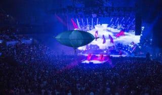 h-aero Drohne bei Udo Lindenberg