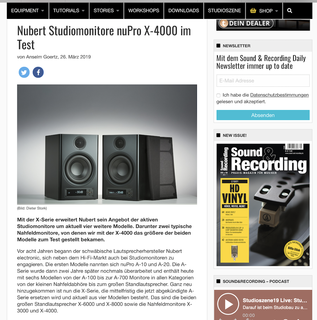 Sound&Recording