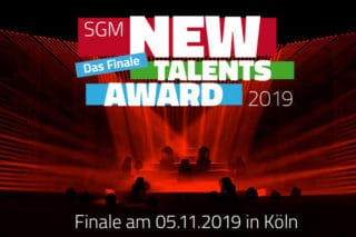 Banner SGM New Talents Award 2019