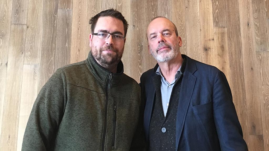 Roland Greil (li.) und Patrick Woodroffe