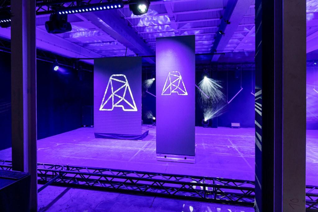 Fahrbare LED-Wände Aumovis