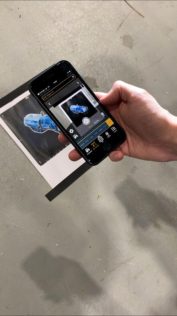 Focus Wand und Find Me-Funktion auf dem Smartphone