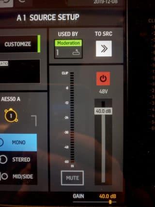 Verbindung mit Stagebox S16