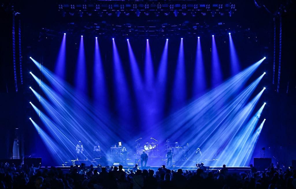 Lichtdesign bei der Phil Collins Welttournee