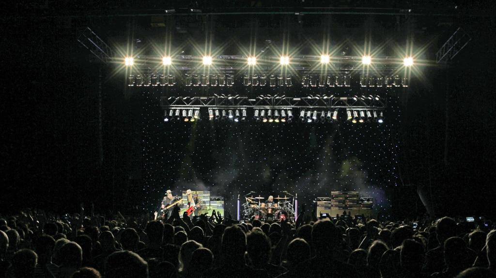ZZ Top beim Konzert in Mannheim
