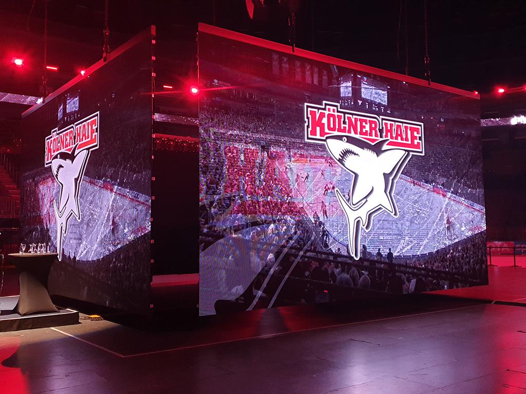 Expromo stattet Lanxess Arena mit neuer LED-Installation aus